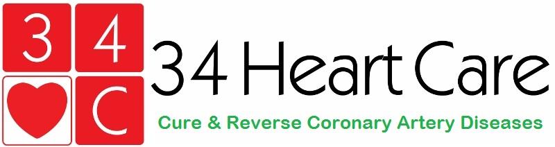 34 Heart Care Logo