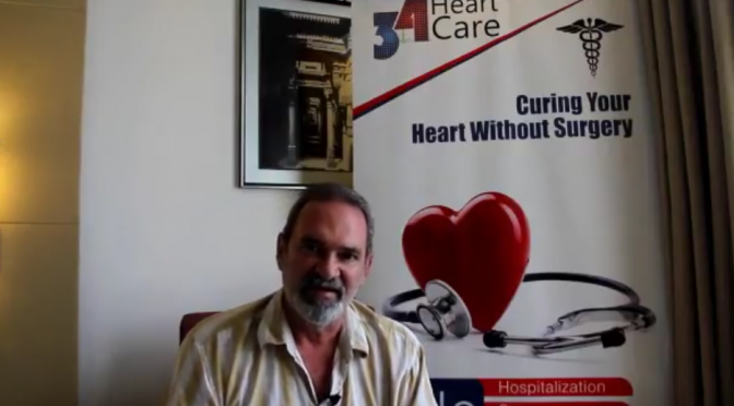 34 Heart Care Testimonial Mr. Rusty from USA